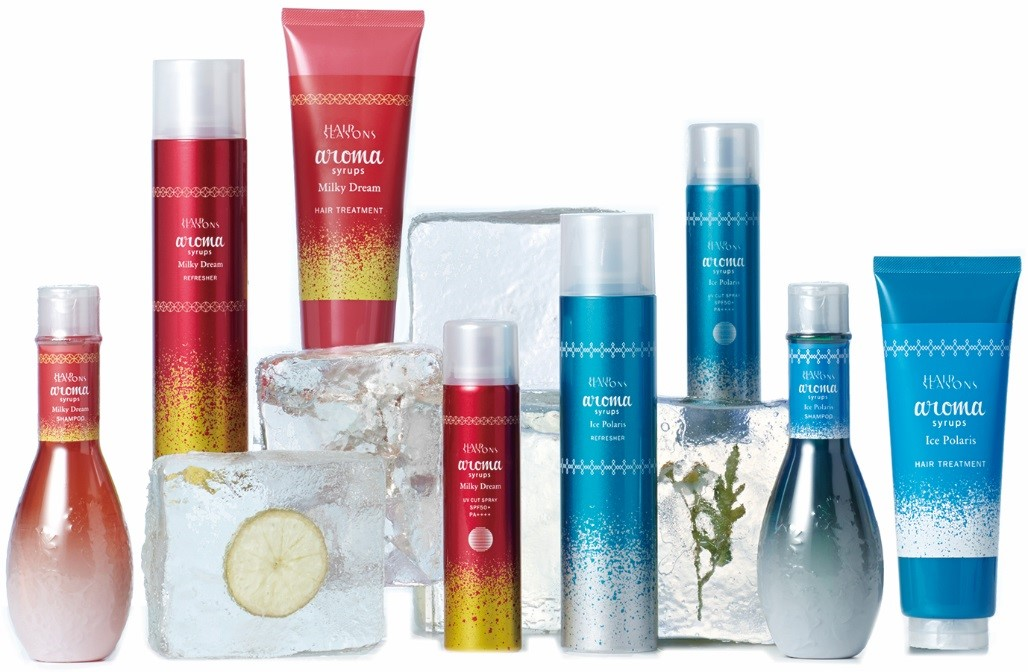 HAIR SEASONS aroma syrups summer version(ヘアシーズンズ アロマシロップス サマーバージョン)